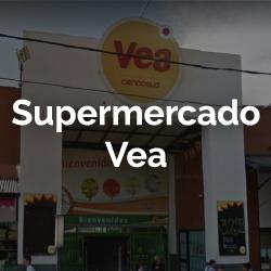 Supermercado Vea, Yerba Buena Shopping, entrada de supermercado